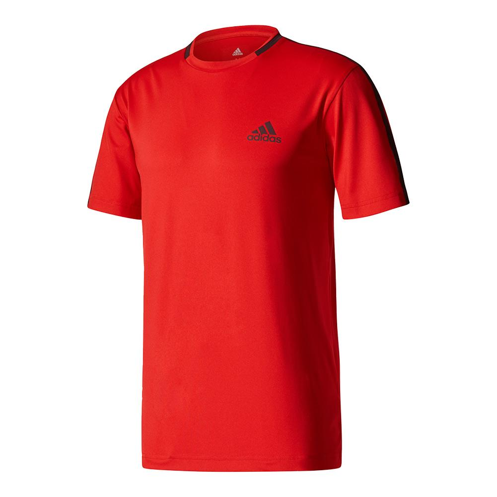 Men's Advantage Tennis Tee Scarlet