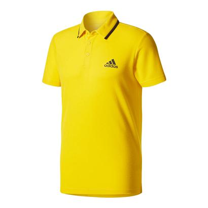 Men`s Advantage Tennis Polo Eqt Yellow