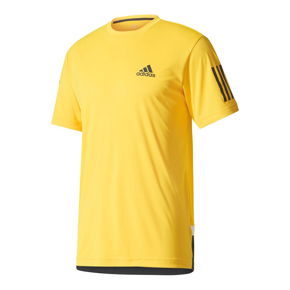 Men's Club Tennis Tee Eqt Yellow And Black