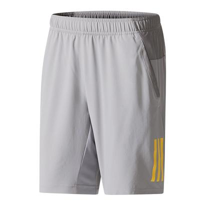 Men`s Club Tennis Short Gray and Eqt Yellow