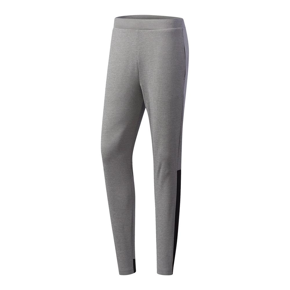 Men's Club Knit Tennis Pant Core Heather And Black