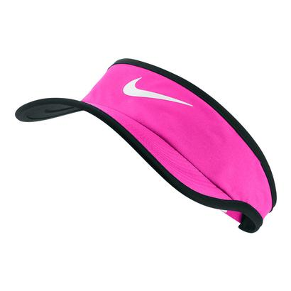 Young Athletes` Featherlight Tennis Visor Lethal Pink