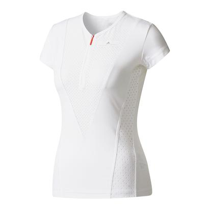 Women`s Stella McCartney Barricade Tennis Tee White