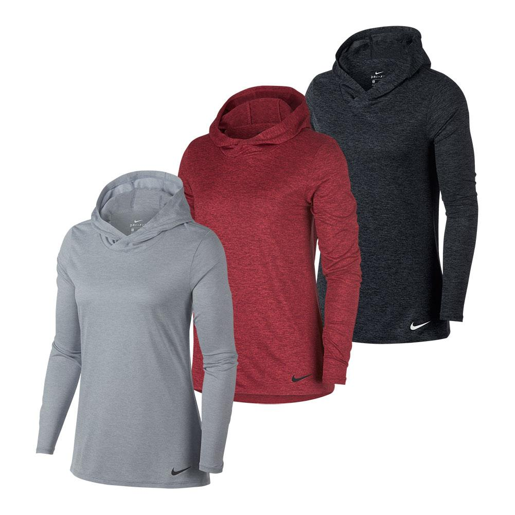 Women's Dry Legend Long Sleeve Hooded Top