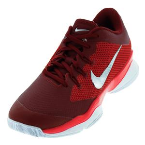 Women`s Air Zoom Ultra Tennis Shoes Team Red and Siren Red