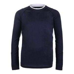 Boys` Fundamental Long Sleeve Tennis Top