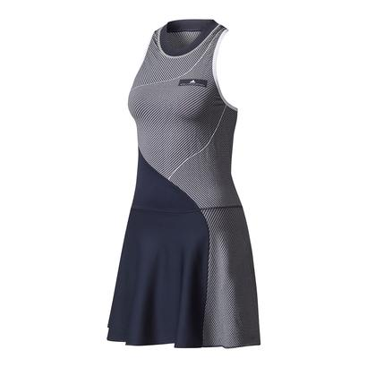 Women`s Stella McCartney Barricade New York Tennis Dress Legend Blue and White