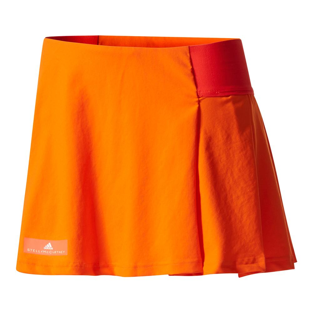 Women's Stella Mccartney Barricade New York Tennis Skirt Radiant Oran And Shck P