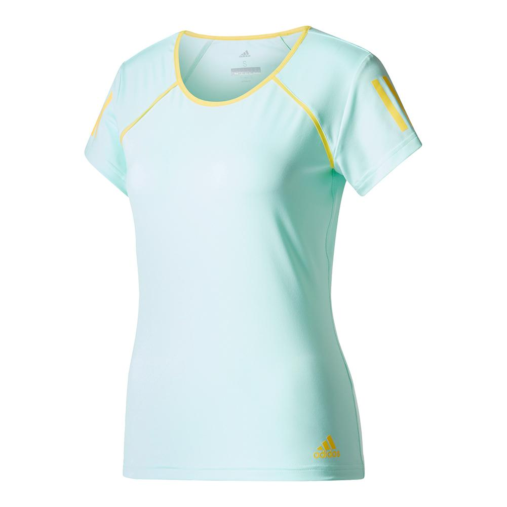 Women's Club Tennis Tee Energy Aqua