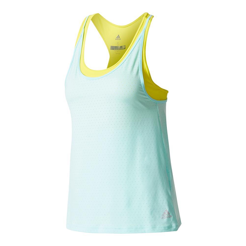 Women's Advantage Strappy Tennis Tank Energy Aqua