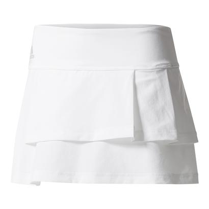 Women`s Advantage Layered Tennis Skirt White