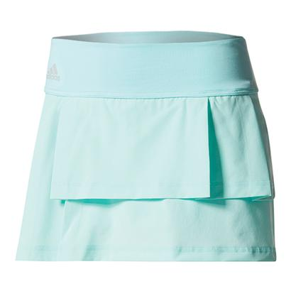 Women`s Advantage Layered Tennis Skirt Energy Aqua