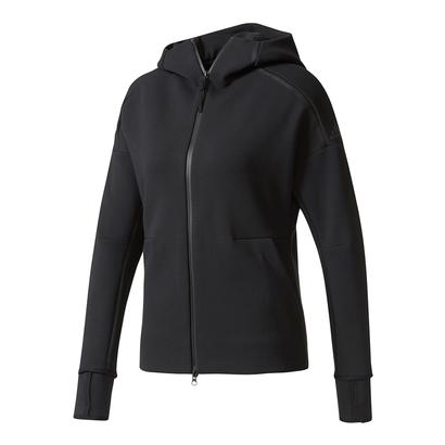 Women`s Zero Negative Energy Tennis Hoodie Black