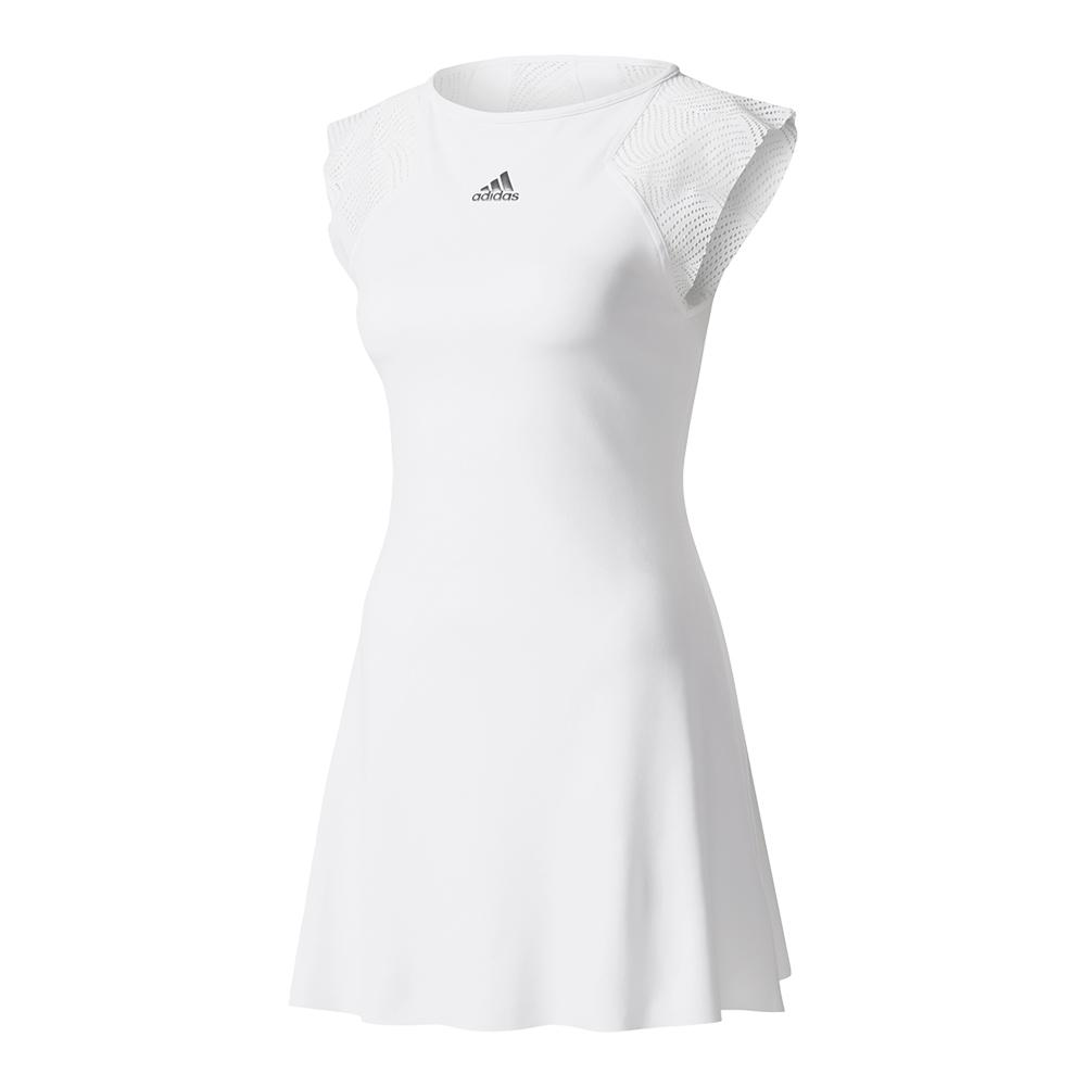 Women's London Line Tennis Dress White