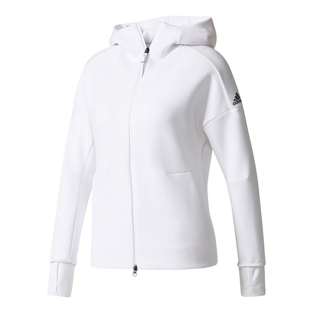 Women's Zero Negative Energy Tennis Hoodie White