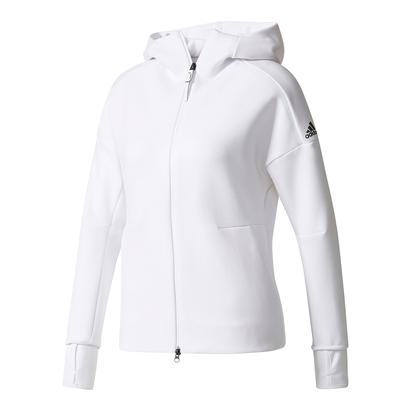 Women`s Zero Negative Energy Tennis Hoodie White