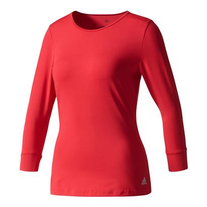 Women`s Advantage Three Quarter Sleeve Tennis Tee Energy Pink