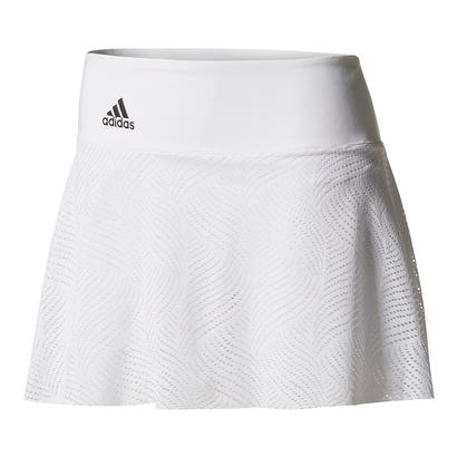 Women`s London Line 13 Inch Tennis Skirt White