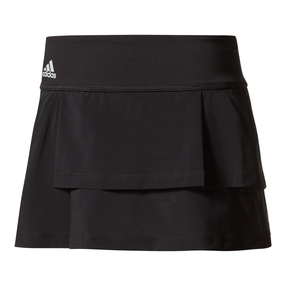 Women's Advantage Layered Tennis Skort Black