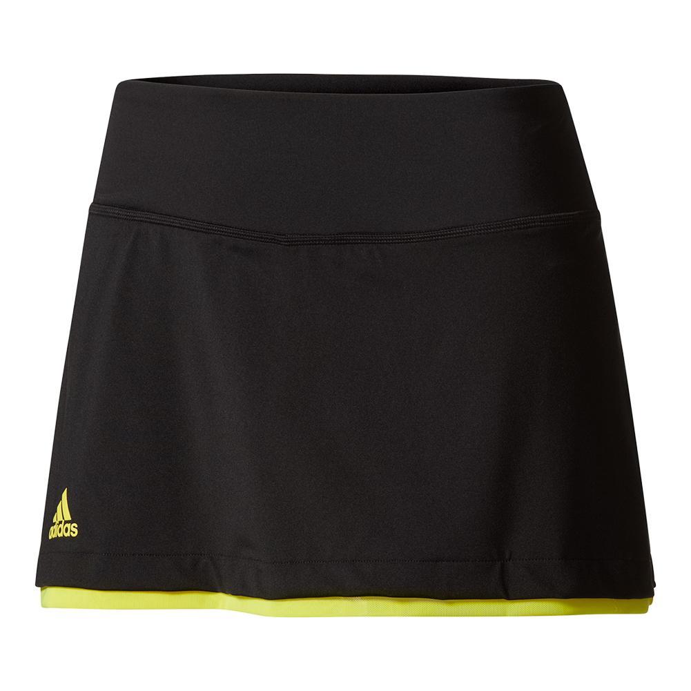 Women's Us Series 13.5 Inch Tennis Skirt Black
