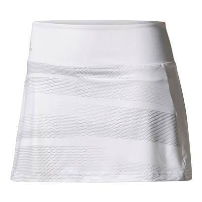 Women`s Advantage Trend 13 Inch Tennis Skirt White and Gray