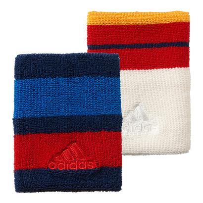 New York Pharrell Williams Tennis Wristband Dark Blue and Chalk White