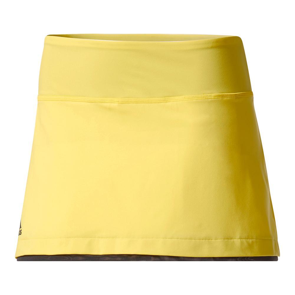 Women's Us Series 13.5 Inch Tennis Skirt Bright Yellow