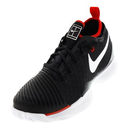Men`s Air Zoom Ultra React Tennis Shoes Black and White