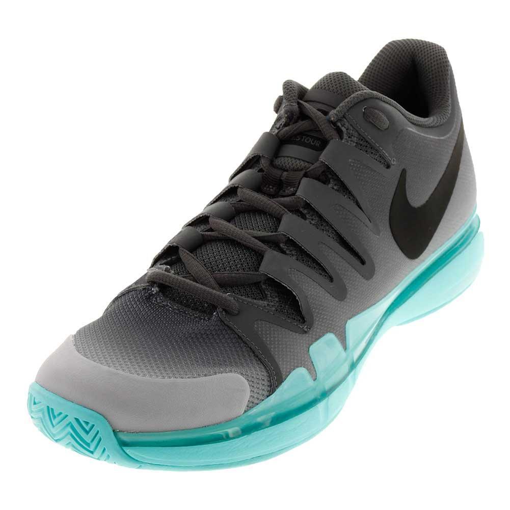 Juniors ` Zoom Vapor 9.5 Tour Tennis Shoes Dark Gray And Anthracite