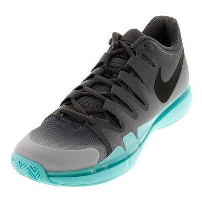 Juniors` Zoom Vapor 9.5 Tour Tennis Shoes Dark Gray and Anthracite