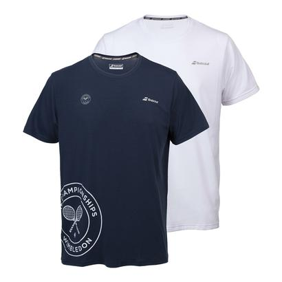 Boys` Wimbledon Core Training Tennis Tee