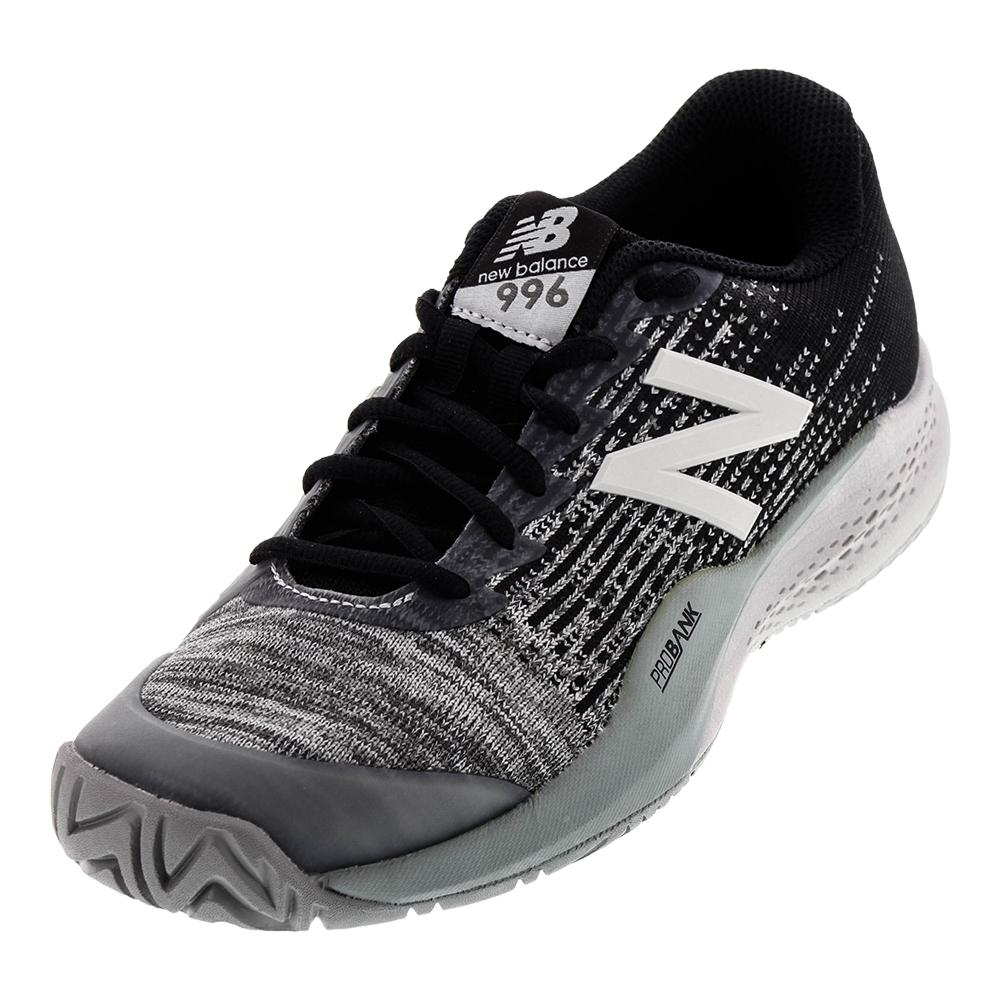 Men's 996v3 D Width Tennis Shoes Black And Gray