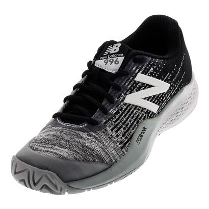 Men`s 996v3 D Width Tennis Shoes Black and Gray