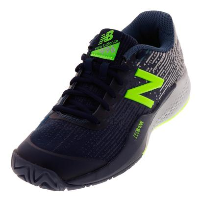 Men`s 996v3 2E Width Tennis Shoes Pigment and Light Cyclone