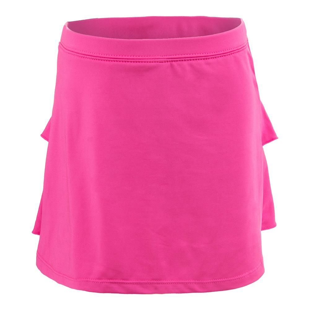 Girls'solid Tennis Skort Pink