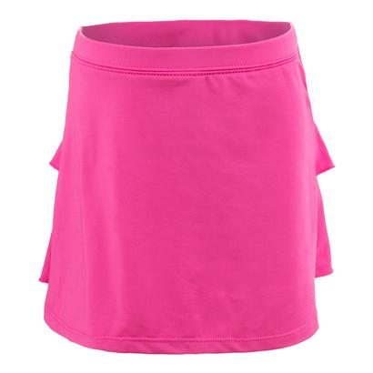 Girls` Solid Tennis Skort Pink