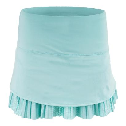 Women`s Long Drop Pleat Tennis Skort Lagoon