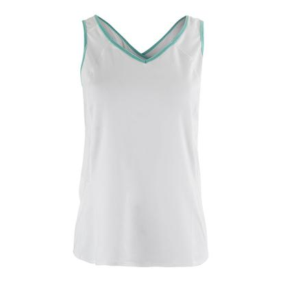 Women`s Jane Sweet Tennis V Tank White