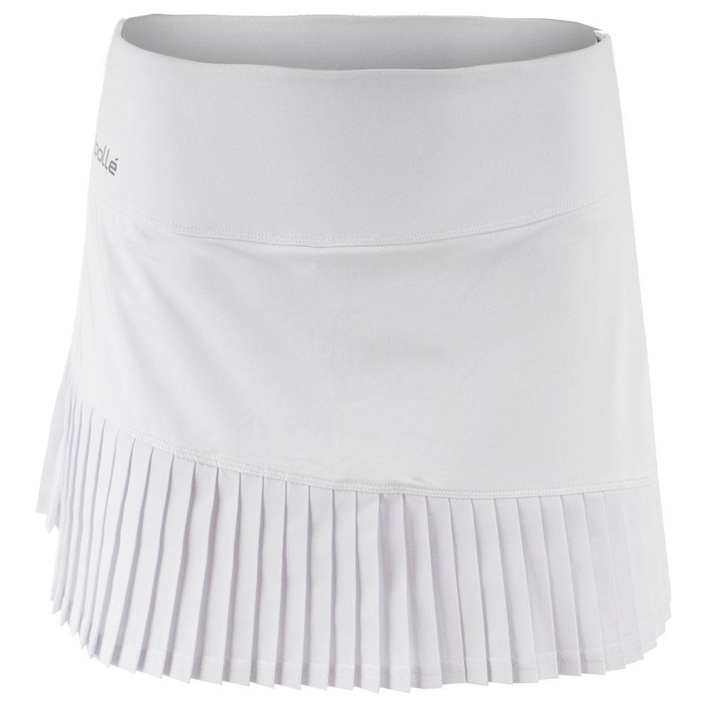 Women's Club White 14 Inch Tennis Skort White