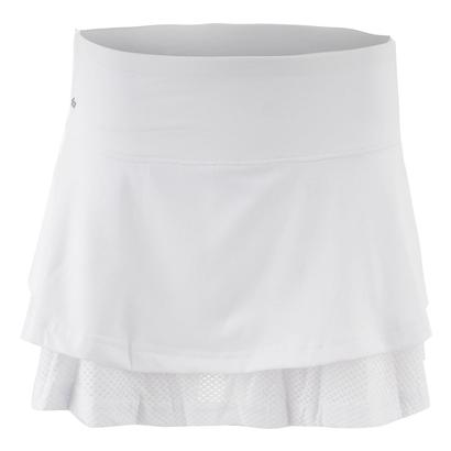 Women`s Club Whites 14 Inch Tennis Skort White