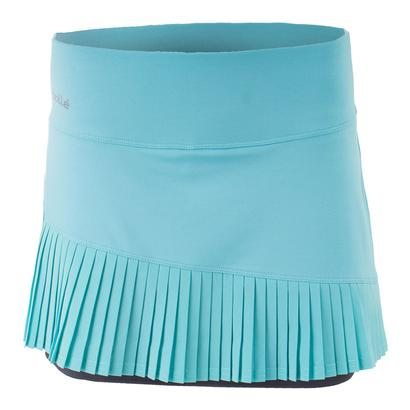 Women`s Aquarius Pleated Tennis Skort Aqua