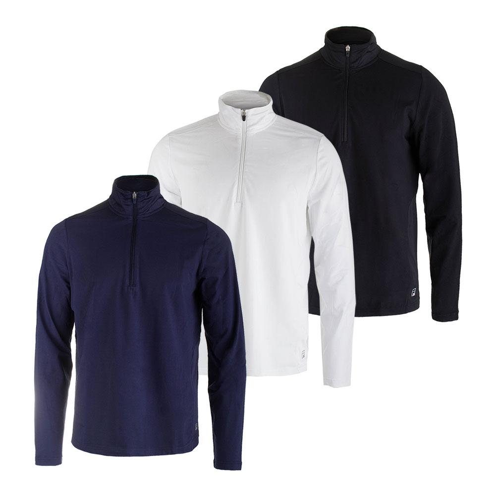 Men's Fundamental Half Zip Tennis Jacket