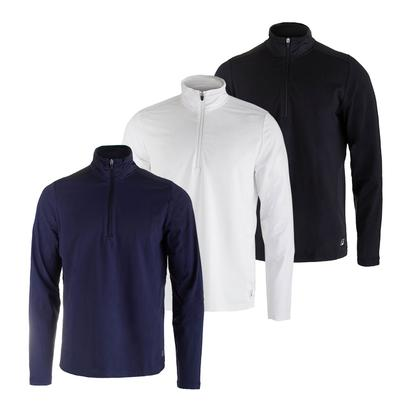 Men`s Fundamental Half Zip Tennis Jacket