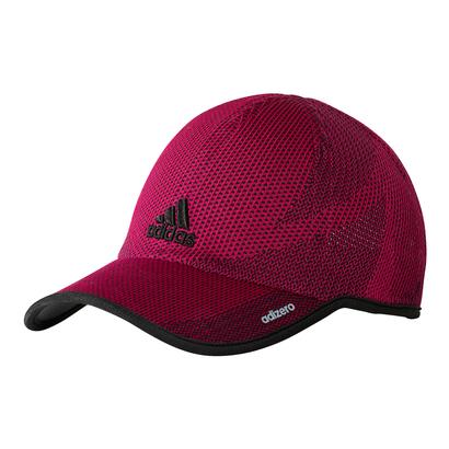 Women`s Adizero Prime Tennis Cap Bold Pink and Black