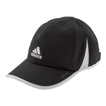 Women`s Adizero II Tennis Cap Black and White