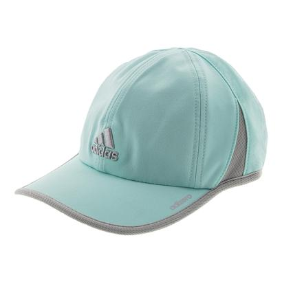Women`s Adizero II Tennis Cap Energy Aqua and Clear Onix