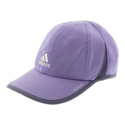 Women`s Adizero II Tennis Cap Light Flash Purple and Super Purple