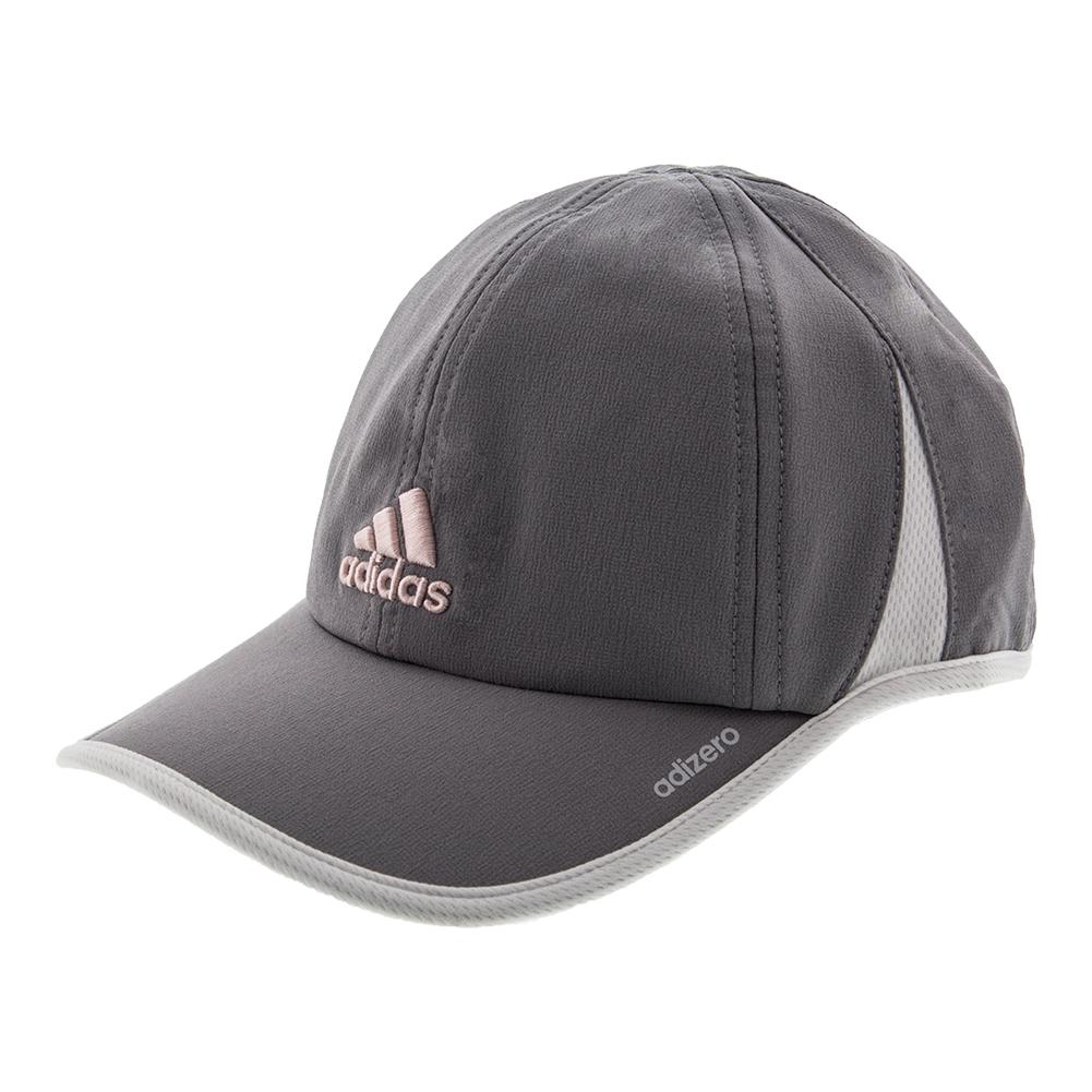Women's Adizero Ii Tennis Cap Gray And White