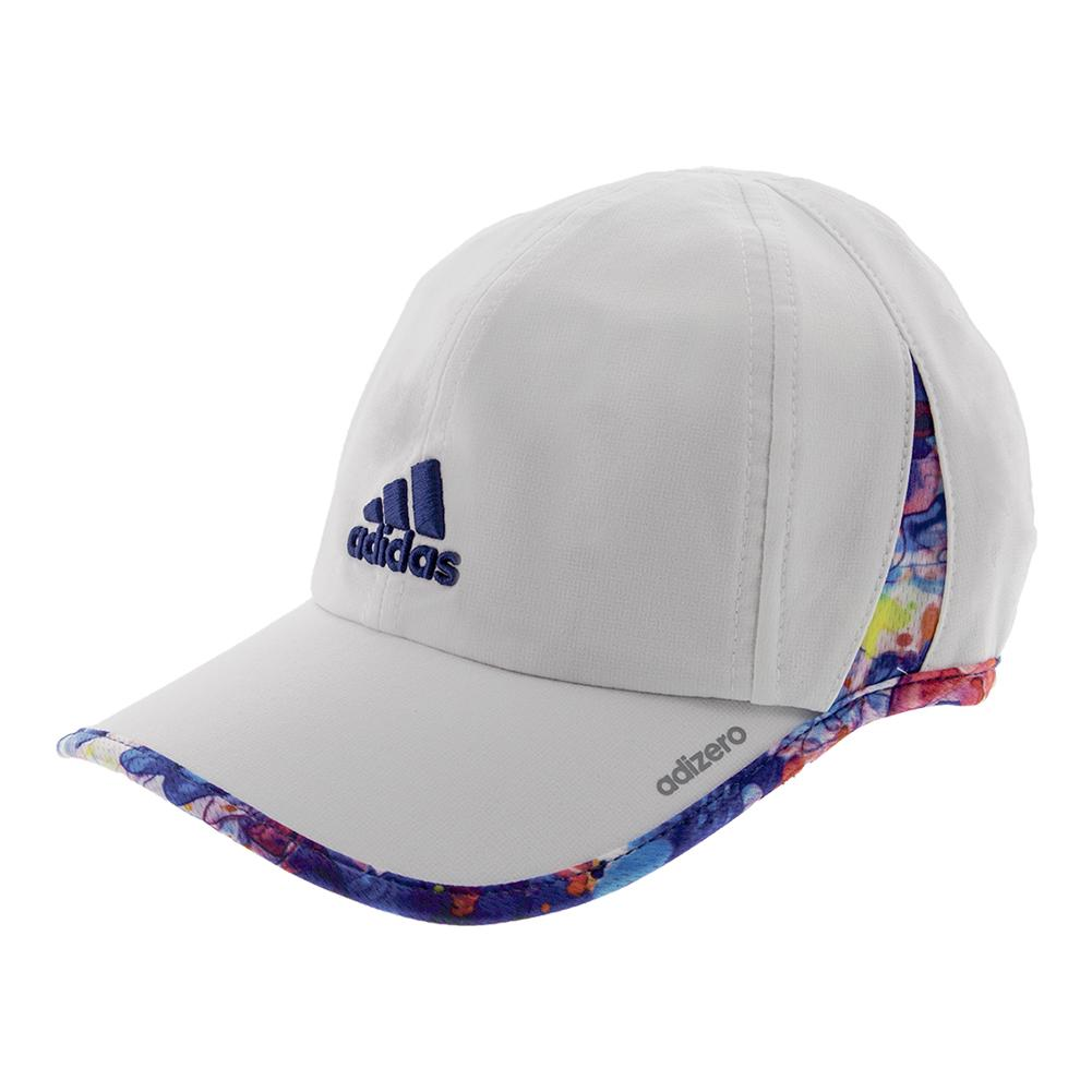 Women's Adizero Ii Tennis Cap White And Jodo Print