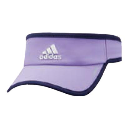 Women`s Adizero II Tennis Visor Light Flash Purple and Super Purple